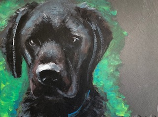 Commission Me -Pet or Animal Portrait in Watercolour or Acrylic